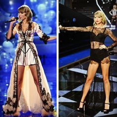 Victoria Secret's Fashion Show 2014: Taylor Swift as the Honorary Angel