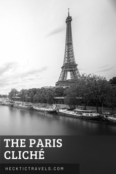 Touristy places have touristy parts that are touristy for a very good reason. And thus we bring you photos that follow in the Paris cliché. Paris Black And White, Visit France, Your Photos, Tower, Places, Travel, Viajes, Lathe, Towers