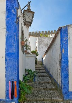 Obidos, Portugal...one of my favorite places by far.