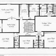 مخططات منازل جزائرية صغيرة المساحة Family House Plans Model House Plan Architectural House Plans