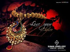 Neatly crafted Peacock Pendant Necklace for you - Amazing! Be the first to review it!!  View @ www.sumanjewellery.in/