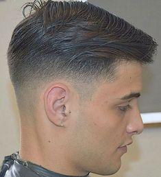 Low fade men's hair