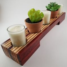 Handmade tealight holder