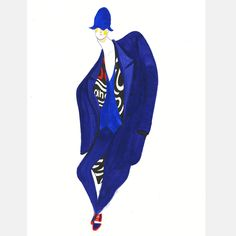 Burberry S/S 15 #1 - SHOWstudio #fashion #illustration