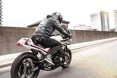 Moto-Mucci: DAILY INSPIRATION: S.K.O.N. 1985 Honda CBX750F