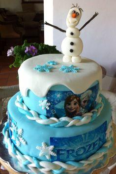Frozen cake Disney Torta de Frozen Disney