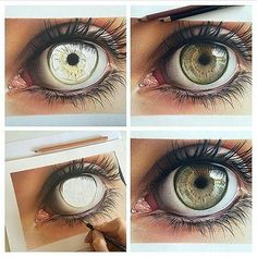 Behind The Scenes By arts_promote Art Magazin, Realistic Eye Drawing, Bubble Art, Eye Painting, Pencil Art Drawings, Eye Drawings, Color Pencil Art, Amazing Drawings, Watercolor Artwork