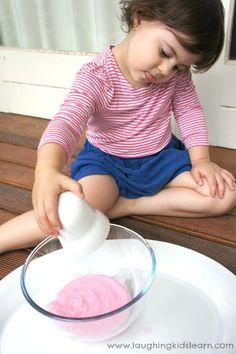 conditioner 3 ingredient playdough