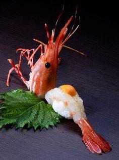 botan shrimp sushi