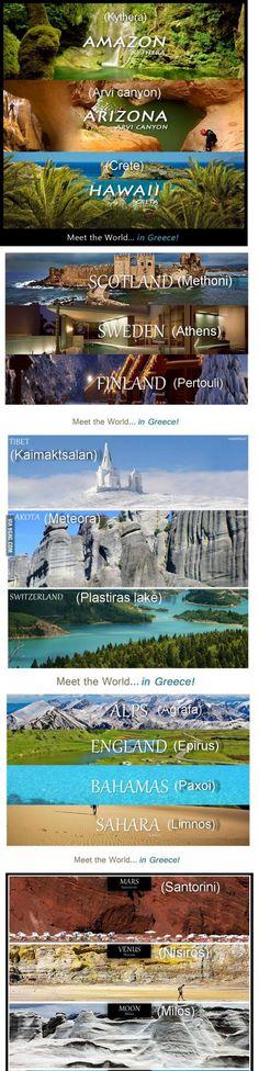 Meet the world in Greece!!!