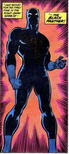 The Black Panther - art by Sal Buscema and Frank Giacoia Comic Book Characters, Comic Book Heroes, Marvel Characters, Marvel Heroes, Comic Character, Comic Books Art, Marvel Art, Comic Art, Marvel Live