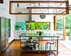 House & Garden > Natural instinct: Brisbane open-plan :ninemsn Homes Stove window combo