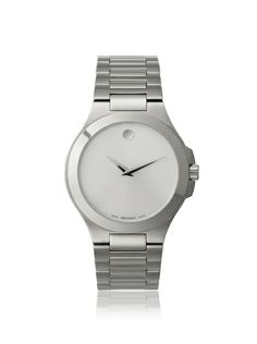 Movado Men's 606165 Museum Silver Stainless Steel Watch at MYHABIT
