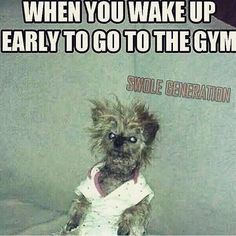I am working the evening shift right now and I am sure this is how I look to the world in the gym at 0300 hrs.