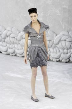 Chanel Spring 2008 Couture Fashion Show - Viviane Orth
