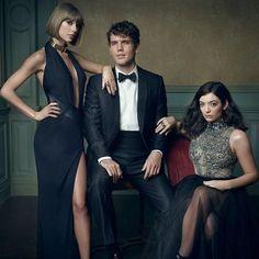 Taylor Swift, Austin Swift & Lorde #Oscars 2016