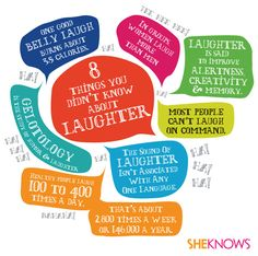 The science of laughter -- things that will make you go A-HA and HA HA