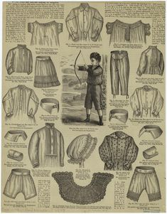 Ad: clothing for boys and girls, 1878.