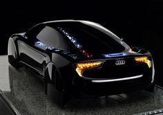 fullthrottleauto:  Audi shows off OLED-illuminated concept R8