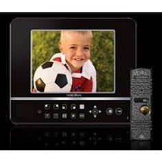 DVR & Intercom in ONE; IVR-Q8 Black