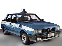 Alfa Romeo Giulietta Polizia (116) '1983–85