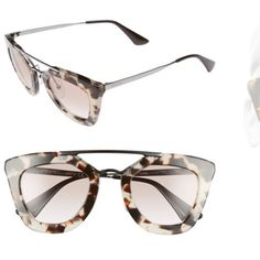 5ee1d071da Brand new Authentic! Comes with everything Prada Accessories Glasses Cat  Eye Sunglasses, Mirrored Sunglasses
