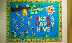 Back to school bulletin board. Bumble bees