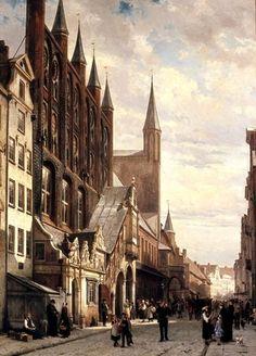Lübeck, ca. 1880