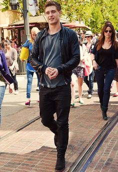 Max Irons - I'm surprised no one is chasing him down the street!