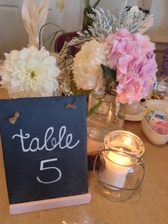 Wedding table idea?