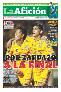 Portada La Afición Ed. Monterrey 25/03/14 POR ZARPAZO A LA FINAL
