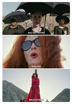 Jessica is the bomb, but Frances Conroy has a special place in my heart.