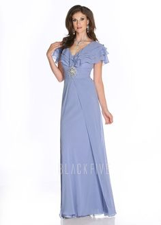 81c3098aadf A line Floor Length Chiffon V Neck Mother of the Bride Dress With Short  Sleeves  269.99. Cocktail Dresses OnlineBuy Dresses OnlineEvening ...