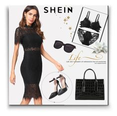 """SheIn 3 / XXIV"" by selmamehic ❤ liked on Polyvore featuring WALL"