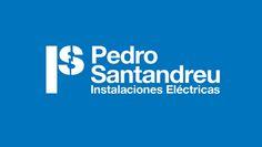 Concepto y diseño de la Identidad para la empresa de electricidad Pedro Santandreu