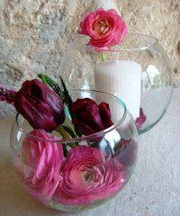 Vase/photophore Boule D 13 cm - tartifumedéco