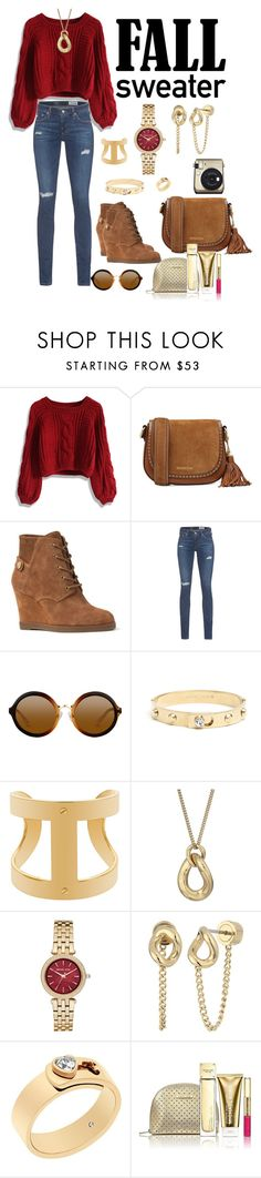 """""""Untitled #330"""" by gorgeouslor ❤ liked on Polyvore featuring Chicwish, MICHAEL Michael Kors, AG Adriano Goldschmied and Michael Kors"""