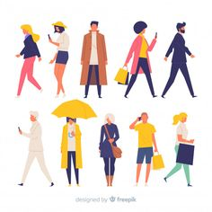 More than a million free vectors PSD photos and free icons. Exclusive freebies - Icon People - Ideas of Icon People - More than a million free vectors PSD photos and free icons. Exclusive freebies and all graphic resources that you need for your projects Illustration Design Plat, Illustration Main, Character Illustration, Digital Illustration, Character Flat Design, Character Drawing, Animation Character, Character Sketches, Buch Design
