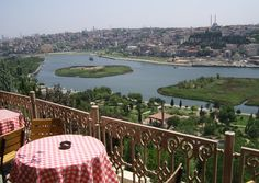Do you know Istanbul Pierre Loti? This place is located European side of the city. First thing you should know about it; It has an amazing view of Golden Horn.  It is in the tomb of Eyup Sultan and there are a few cafes in this places. When you get there if you want climp, ıf you want to use cable car. So many people ask to us Pirre Loti Cafe. This cafe also has an amazin view. If you are wondering its menu you can see from here. http://istanbulturkeybook.com/pierre-loti-istanbul-turkey/
