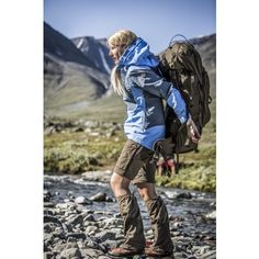 Fjällräven - Keb Gaiter trousers - can be unzipped in hot conditions