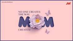 No One Creates, the Way Mothers Do! This Mother's Day create something for her and let her know that you love her to the world. HAPPY MOTHER'S DAY! #happymothersday #unconditionallove #mothersday #motherhood #adworthmedia Unconditional Love, No Way, Happy Mothers Day, Love Her, Events, Let It Be, Create, Poster, Mother's Day