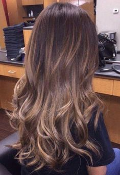 Hair Inspiration Super Haare braun blond Ombre Baylage Ideen How Blonde Balayage Highlights, Brown Hair Balayage, Brown Hair With Highlights, Brown To Blonde, Blonde Ombre, Hair Color Balayage, Summer Highlights, Baylage Blonde, Ice Blonde