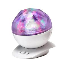 Soaiy Christmas Gift Rotation Color Changing Aurora Projection Led Night Light Lamp Relaxing Show Decorative Mood Baby Nursery Kids