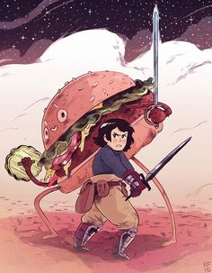 Hamburger Prince by Kyle Fewell