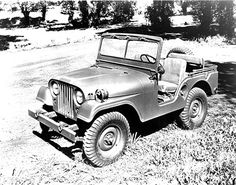 Jeep's CJ-5 was based on a military jeep, the 1951 M-38 A1.