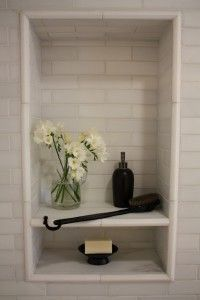 tile for shower: narrow subway, perhaps a basketweave floor. Either tile back wall of toilet room, or wallpaper