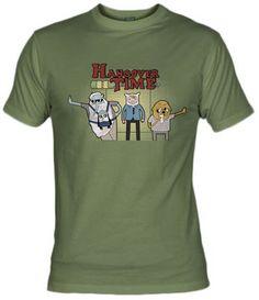Camiseta Hangover Time por Andres M Valle - Peliculas Actuales - Camisetas Cine - Fanisetas - Es hora