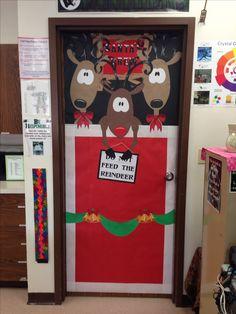 Classroom Christmas Door Decoration