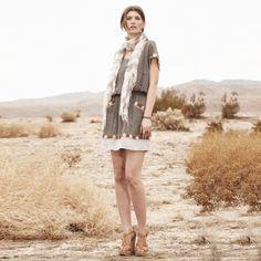 Dylan Silk Medallion Dress - Club Monaco Dresses - Club Monaco. Trending for summer!