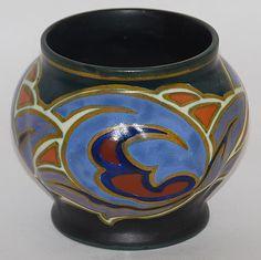Gouda Pottery 1927 Dinara Vase from Just Art Pottery